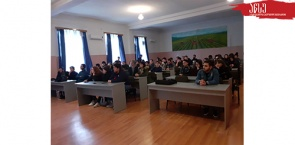 ATSU Administration Meets the First Year Students of the Faculty of Agriculture
