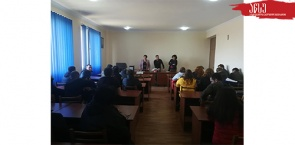 Meeting of the Students of the Faculty of Agriculture with the Representatives of FAO