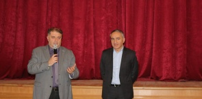 Minister of Education Mikheil Batiashvili at ATSU
