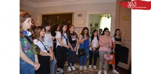 Field Session of Student Scientific Circle of the Department of Social Sciences at Niko Nikoladze House Museum