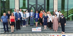 """A meeting in the frame of ERASMUS+ Institutional Development Project """"The Role of Universities in Regional Development"""" hosted by Akaki Tsereteli State University"""