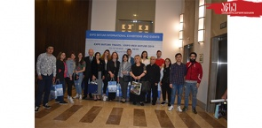 Tourizm program students at the International Tourism Exhibitions 2019