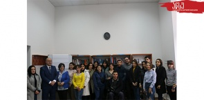 Students of International Relations and Journalism Educational Programs Visited Ministry of Foreign Affairs